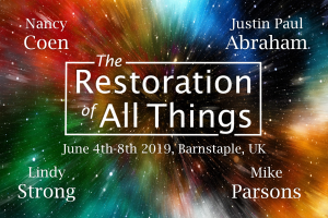 The Restoration of All Things - event with Nancy Coen, Justin Paul Abraham, Lindy Strong and Mike Parsons